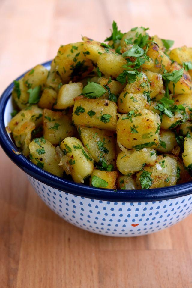 French Sautéed Potatoes   www.rachelphipps.com @rachelphipps
