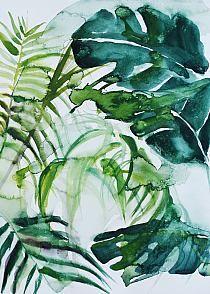"""Obraz na płótnie """"Botanical Garden"""""""