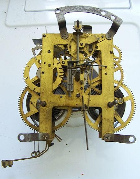 1920 Ingraham Clock Movement