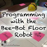 Bee-Bot Floor Robot - Teaching Basic Programming