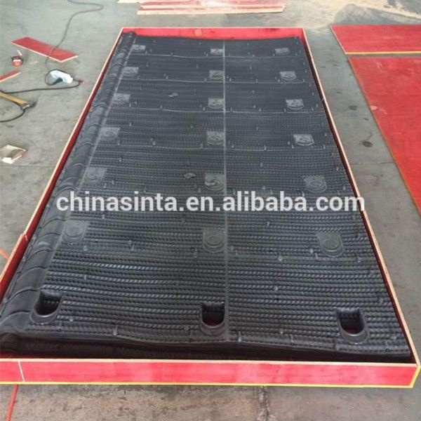 Unique Sheet Design Pvc Material For Easy Cleaning In Cooling Tower Unique Sheets Pvc Material Cooling Tower