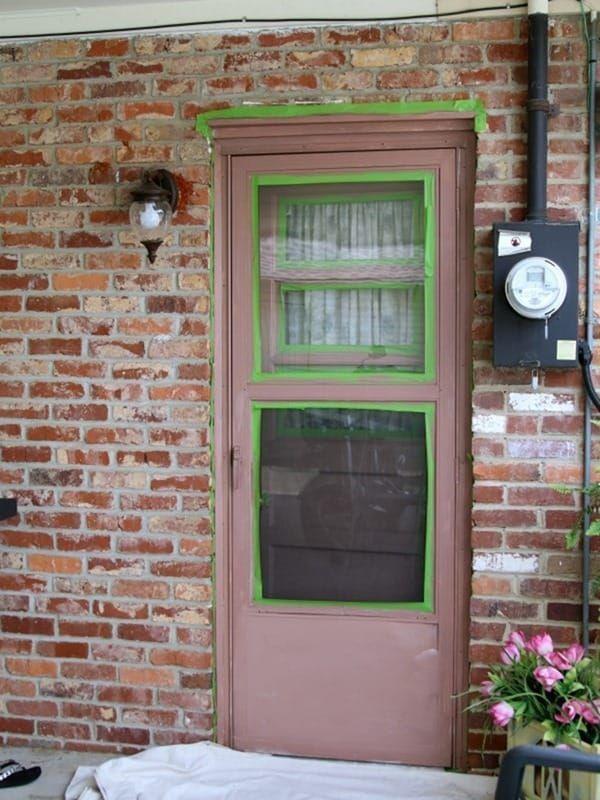 Paint An Exterior Metal Door Like A Professional Metal Doors Exterior Painted Exterior Doors Painted Storm Door