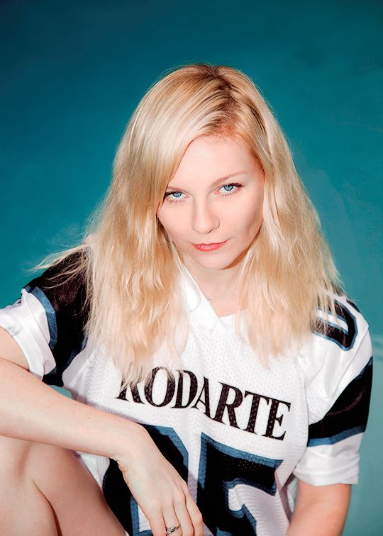 Kirsten Dunst photographed by Carlos Eric Lopez, 2014.
