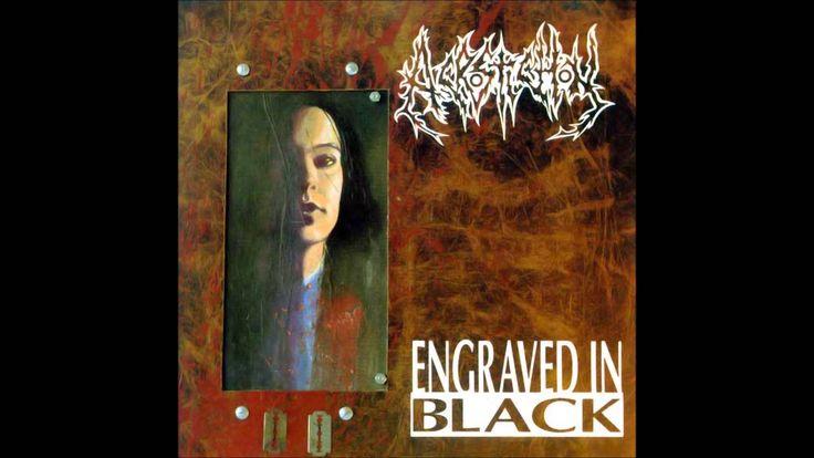 ACROSTICHON - Engraved in Black ◾ (album 1993, Dutch death metal)