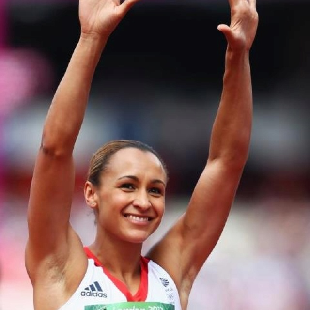 Jessica Ennis Golden Girl wins Heptathlon gold for Team GB