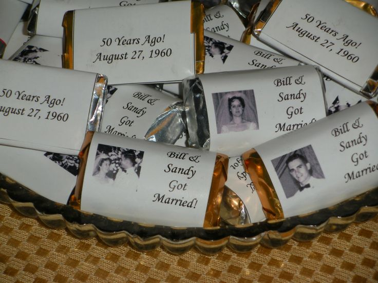 Golden Wedding Gift Ideas For Parents: Homemade 50th-anniversary Centerpieces