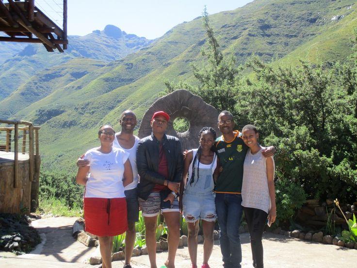 Lovely family at Maliba Lodge.