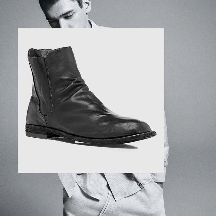 Back-zip Chelsea Boots @Barneysnewyork http://www.barneys.com/officine-creative-back-zip-chelsea-boots-504381511.html