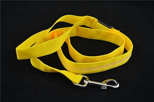 Yellow Battery Safety Light Up Leash – D'aww Factory