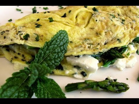 Asparagus & Herb Omellet  How to cook