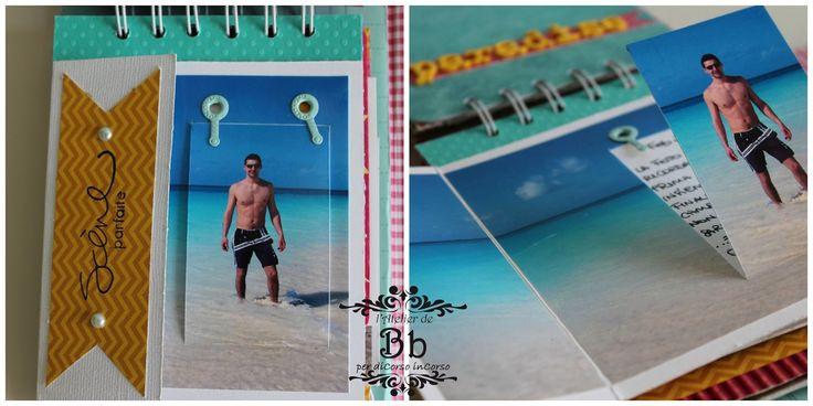 Oggi ritorno per mostrarvi un mini album, ho avuto la fortuna di lavorare con un kit di carte bellissime, Sunny Side di Pebbles!!!  E' una ...