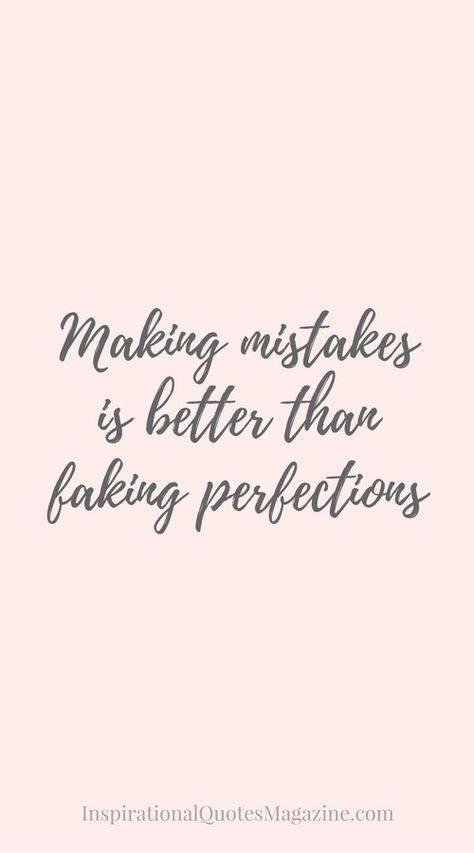 Inspirational Quote about Life and Making Mistakes - Visit us at InspirationalQuot... for the best inspirational quotes!