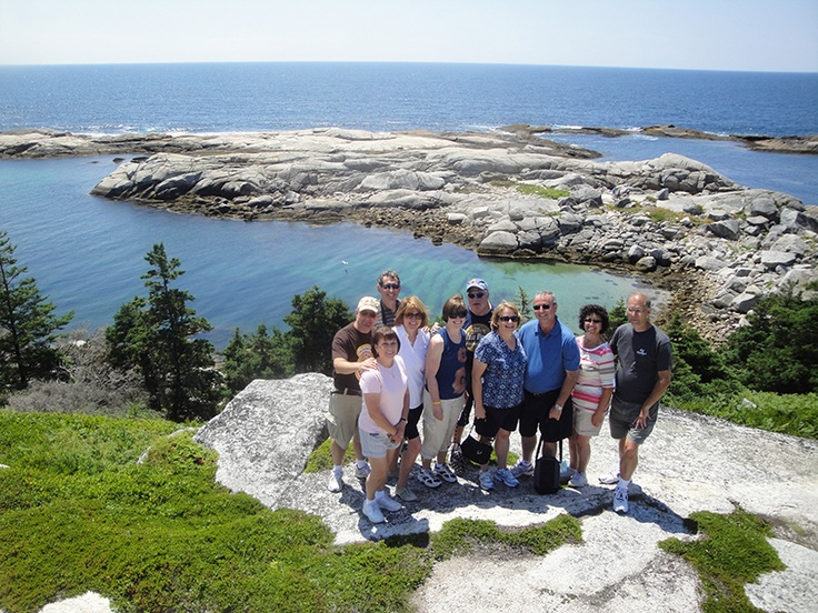 Perfect day for a hike, Peggy's Cove, Nova Scotia.