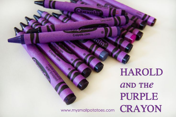 Harold and the Purple Crayon activity - Weekly Kid's Co-op