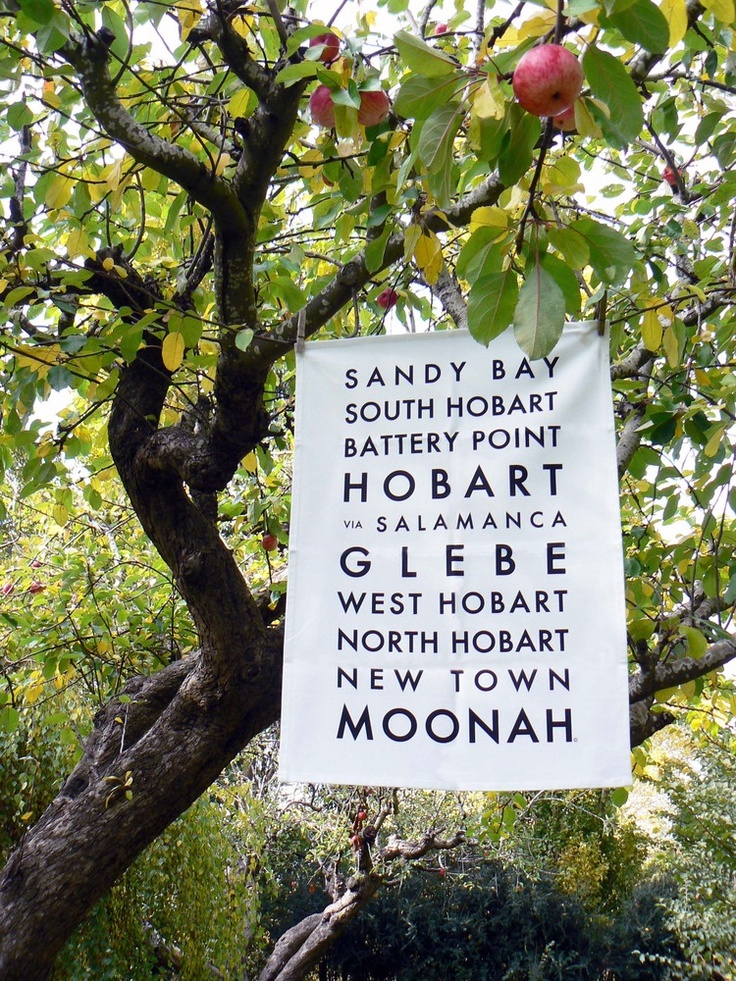 HOBART BUS ROLL TEA TOWEL