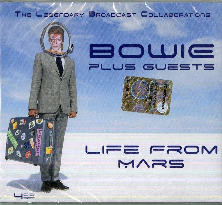 Bowie David Plus Guests - Life From Mars Box 4  CD Nuovo Sigillato