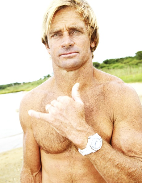 laird hamilton the caption on this said superman on a surfboard