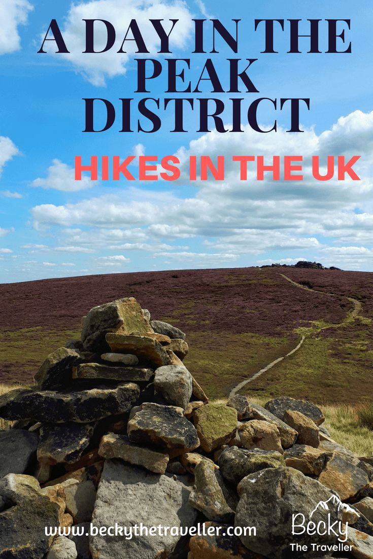 Looking for a beautiful day hike in the Peak District in Derbyshire, UK.? Detailed one day hike walking along the beautiful Derwent Edge, taking in the view. Back via Ladybower Reservoir