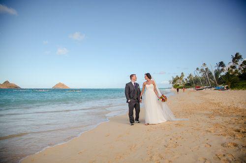 Danielle & Geoff - Male'ana Gardens - Oahu Hawaii    Photos by Rebecca Keizer Studios