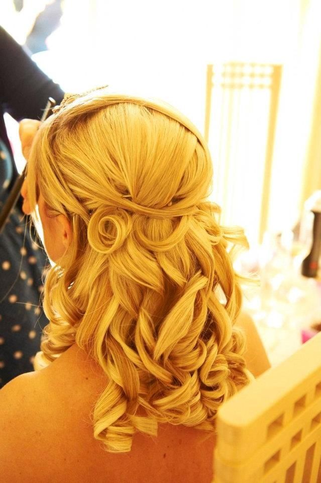 aleenas bridal hair with pinned in extensions for added depth hair by rachael white freelance - Freelance Stylist