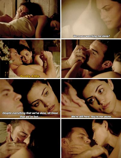 #TheOriginals #3x22 #SeasonFinale This will sound weird but like finally they slept together cuz its been so annoying just watching them flirt and falling in love with each other more and more