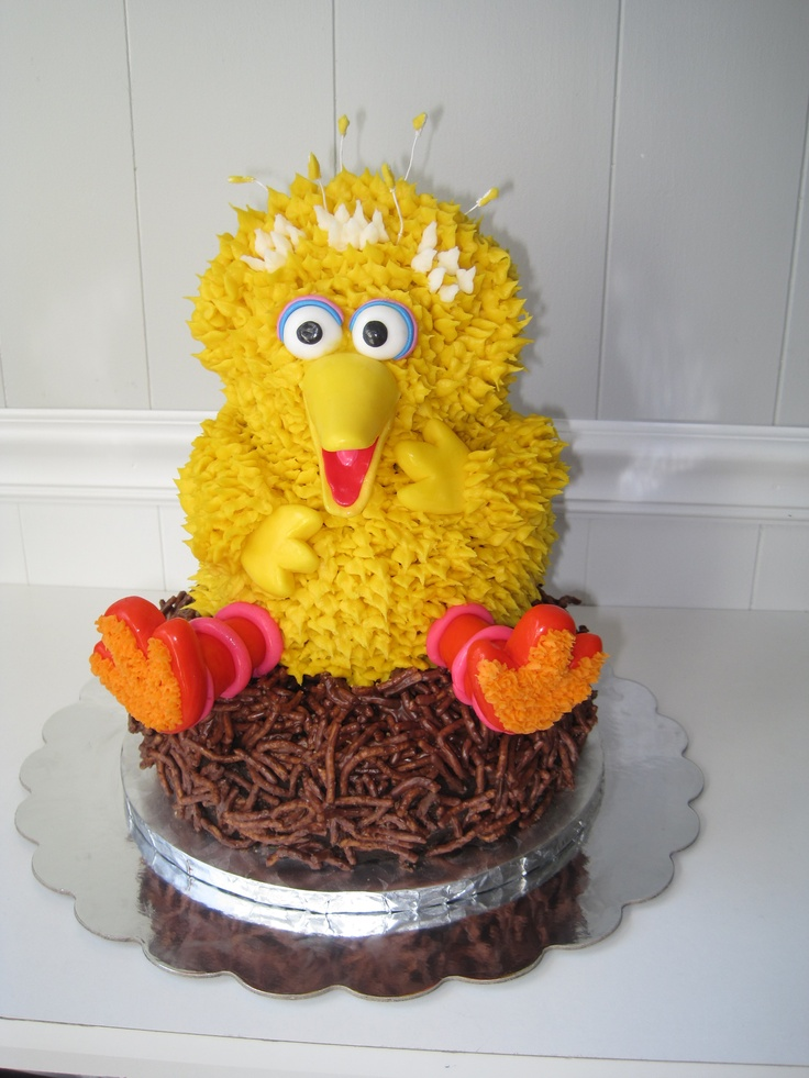 Big Bird Cake Cakes Amp Food Pinterest Big Bird Cakes