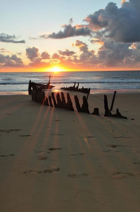 Sunrise at Dicky Beach