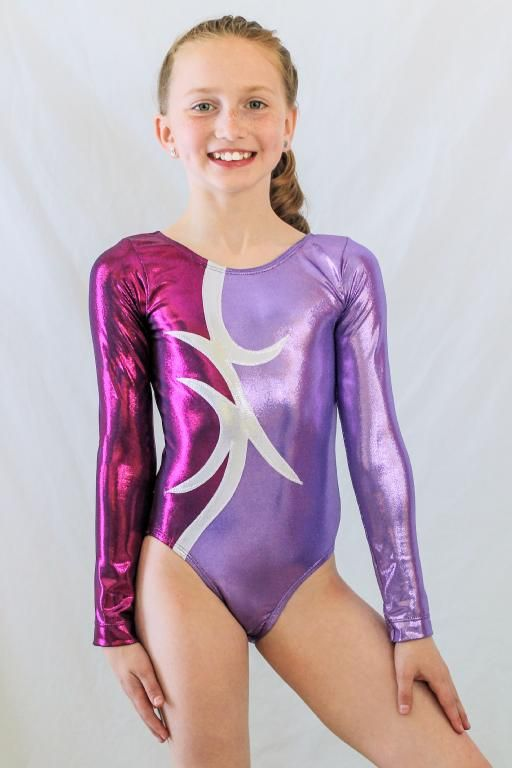 Girls gets excited leotards — pic 4