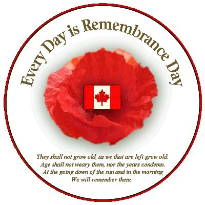Every Day is Remembrance Day