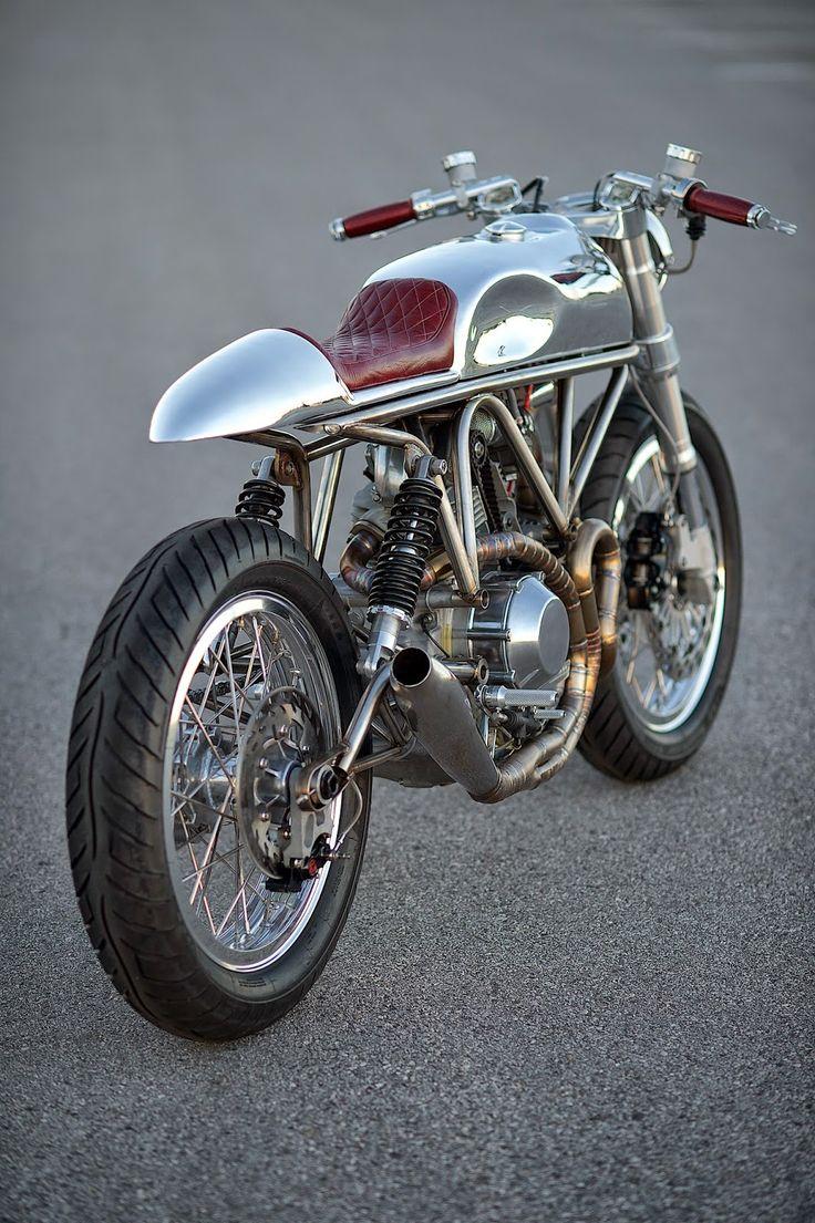 RocketGarage Cafe Racer: Ducati 900SS SP J63