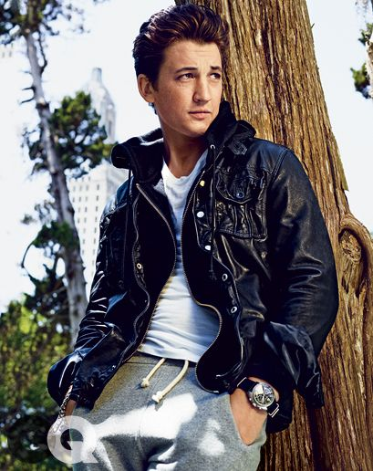 1408378637626_miles teller gq magazine august 2014 style 08  Guess $228 + Hoodie by BLK DNM