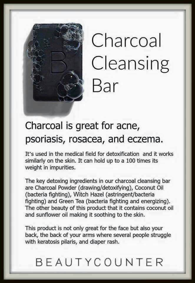 LOVE CHARCOAL!! Paired with the charcoal face mask, this stuff is to die for!