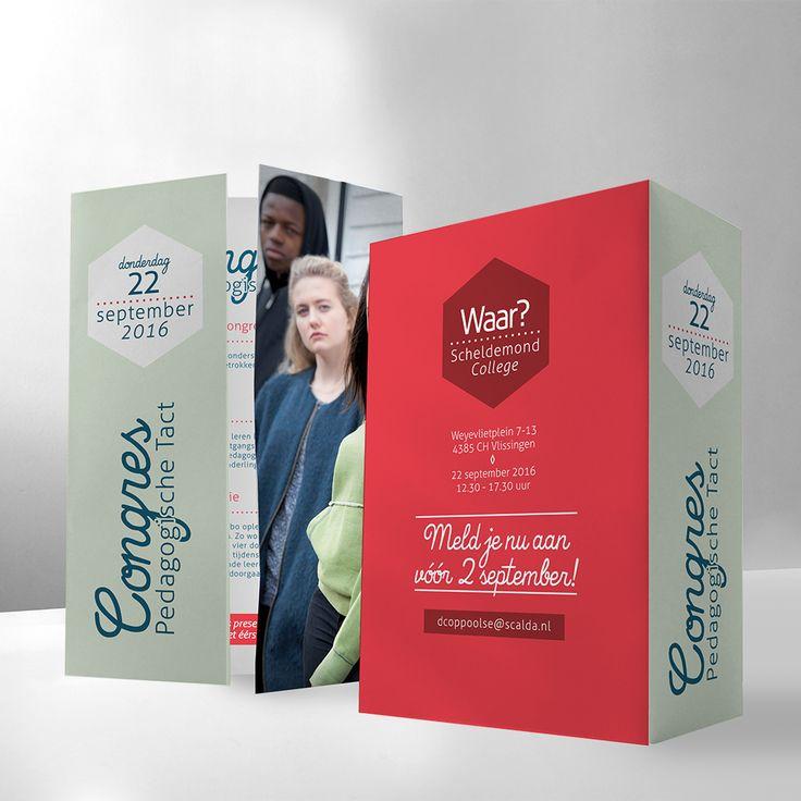 • PEDAGOGISCHE TACT •  Verschillende ontwerpen in een nieuw ontwikkelde stijl mogen bedenken en uitvoeren voor het congres 'Pedagogische Tact' over kwetsbare jongeren. ---------------------------- • Thee & Typografie •  verzorgde de ontwerpen & het drukwerk: - presentatiemap - uitnodigingen - vooraankondiging / digitale uitnodiging ---------------------------- #pedagogisch #congres #presentatie #map #presentatiemap #offertemap #uitnodiging #drukwerk #ontwerp #Grafisch #zeeland #vlissingen