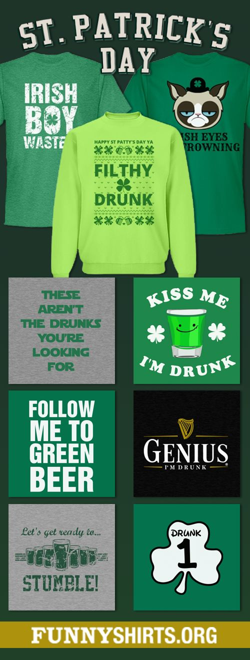 The Funniest St. Patrick's Day Shirts