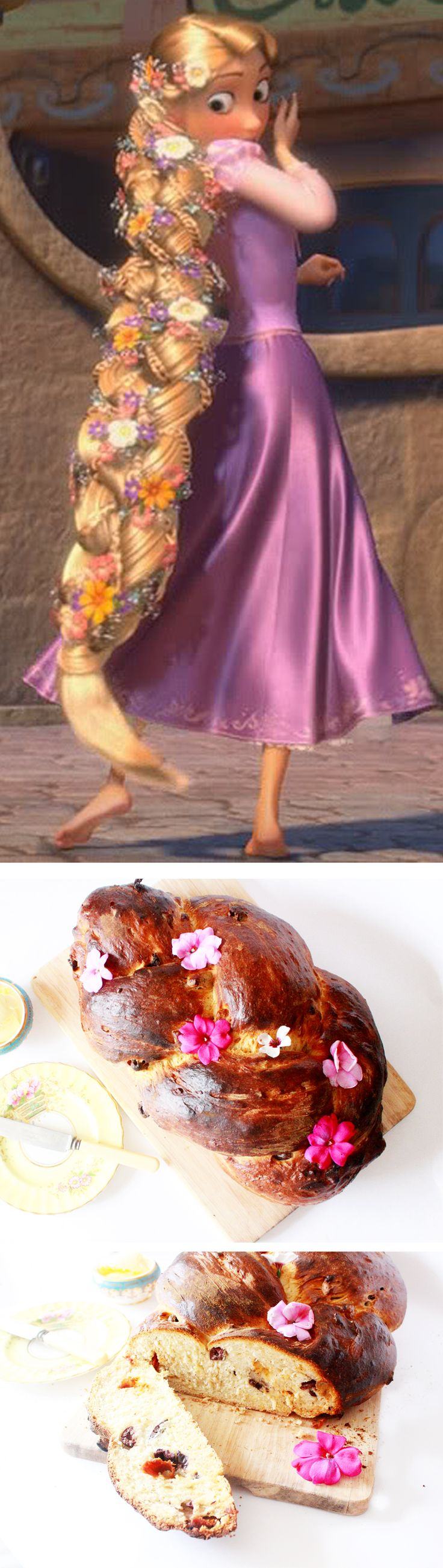 WTF Disney Bread Recipe - Rapunzel Plait Bread