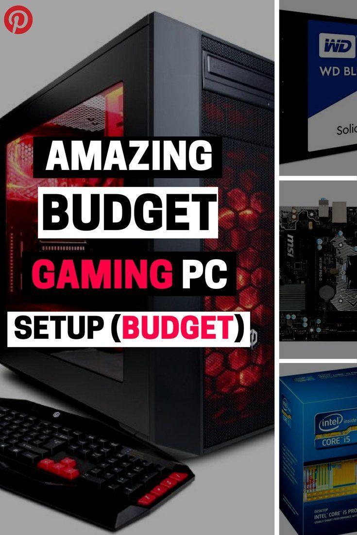 BEST BUDGET GAMING PC SETUPS UNDER $850