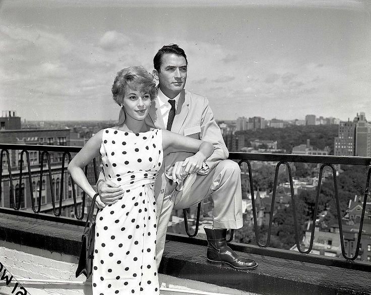 Грегори пек фото с женой
