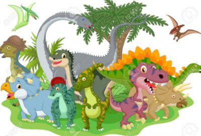 fotos de dinosaurios animados en 3D