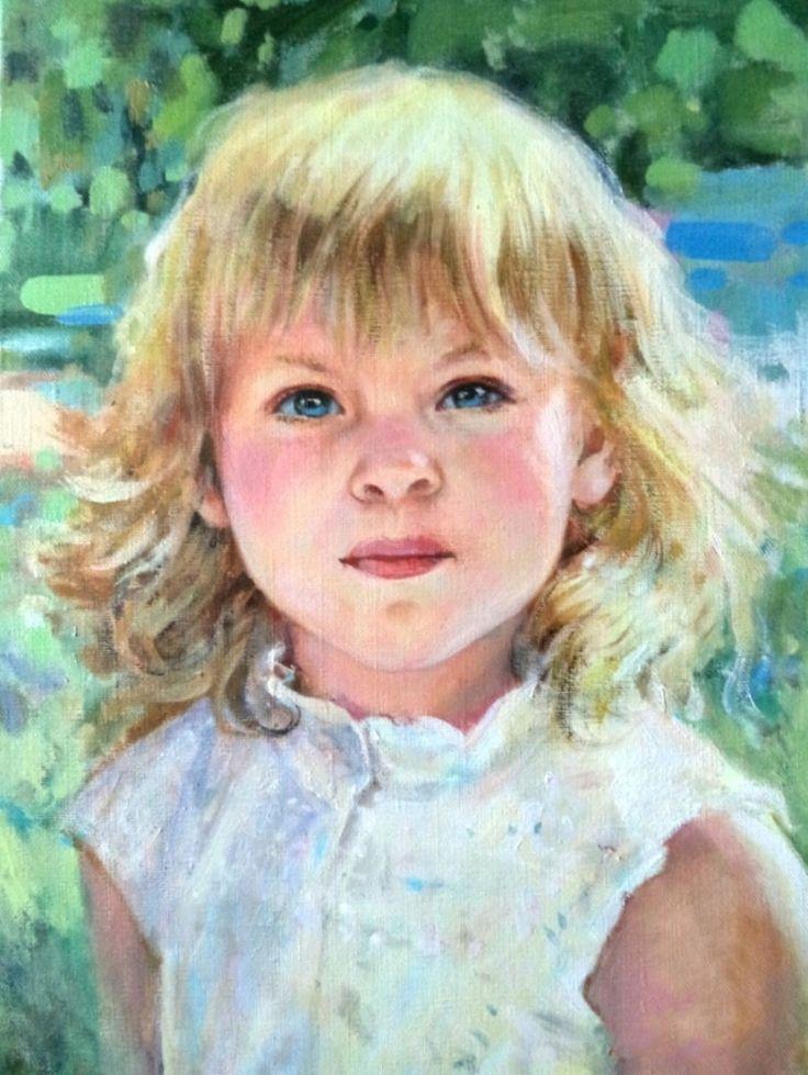 Картинки детских портретов