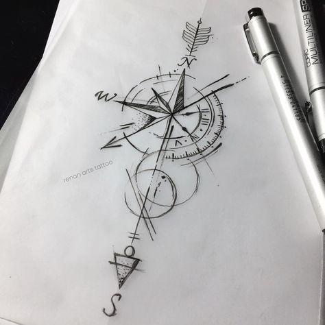 Erleben Sie hier die schönsten Uhrentattoos und Designs. Wir haben sie