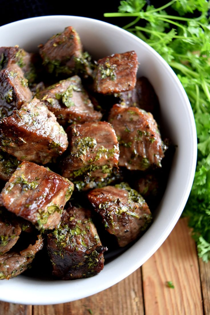 Moist, succulent, perfectly seasoned, and bite-sized; these are just a few ways to describe these Roasted Herbed Beef Tips. Marinated and oven-roasted to perfection, and using the most simple ingredients, beef is transformed into a mouth-watering dish with numerous serving…