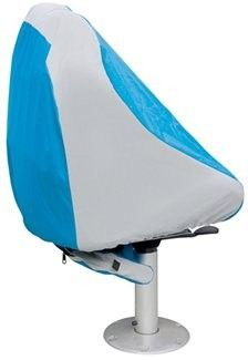Keep  boat seats dry and clean with a Classic Accessories Hurricane boat seat cover.