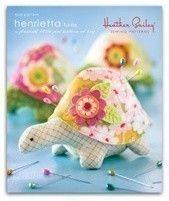 Heather Bailey Henrietta Turtle Pincushion/Toy Sewing Pattern, FREE SHIPPING. $7.95, via Etsy.