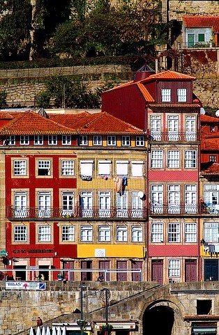 Porto, Portugal -     brings back memories of drinking €1 port on the train from Braga.