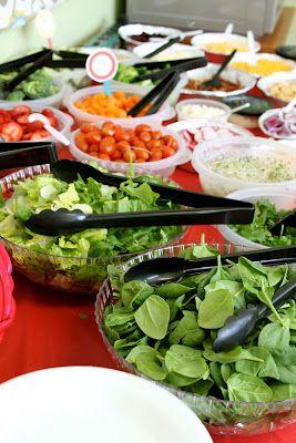 SMELLIN COFFEE: Teacher Appreciation Week: Salad bar lunch