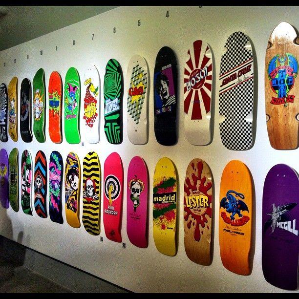 Skate It or Hang It art show in Atlanta #skateboarding #art