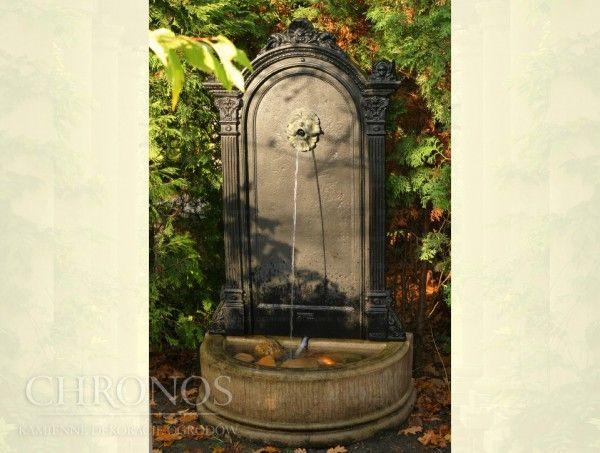 Wodozbiór żeliwny przyścienny - fontanna