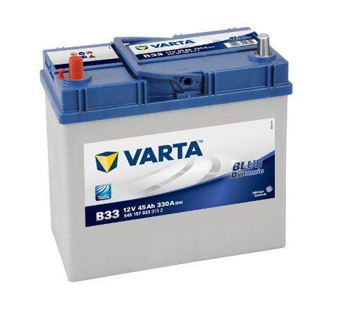 Varta 5451570333132Batterie de démarrage dans emballage de transport et bec Bouchon de protection spécial (Prix + 7,50EUR consigne):…