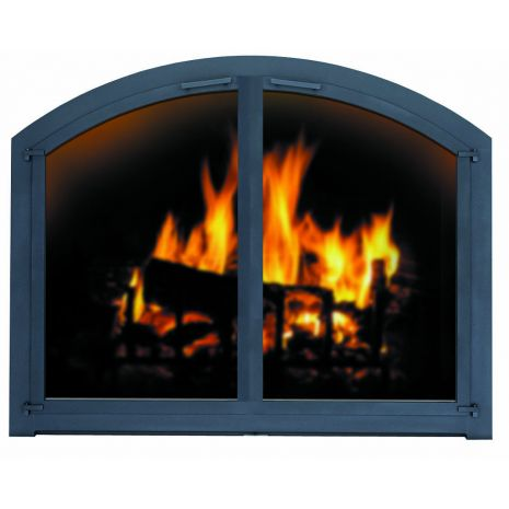 Arched Glass Fireplace Doors 34 best awesome fireplace accessories images on pinterest