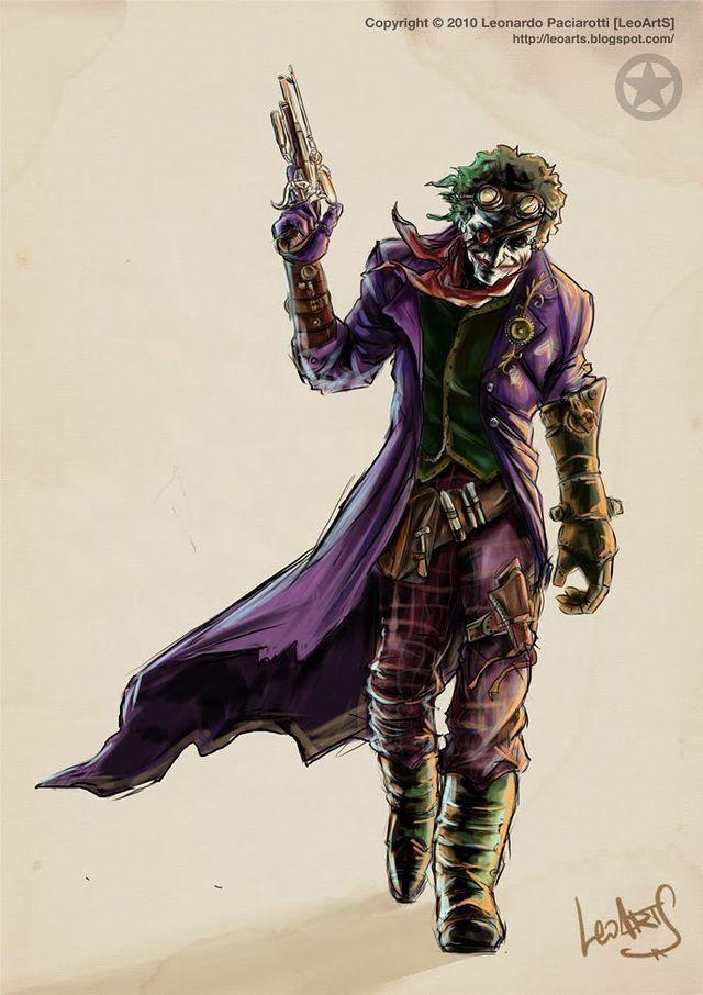 pin the joker art - photo #34